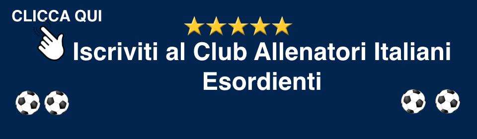 Club Allenatori ItalianiEsordienti