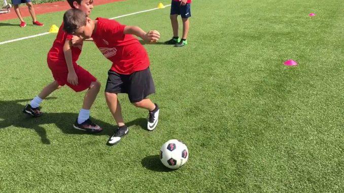 difesa della palla laterale