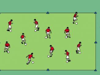 guida della palla: tecnica di base